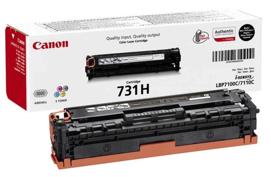 Картридж Canon 731C для принтеров LBP7100Cn/7110Cw. Голубой. 1500 страниц.