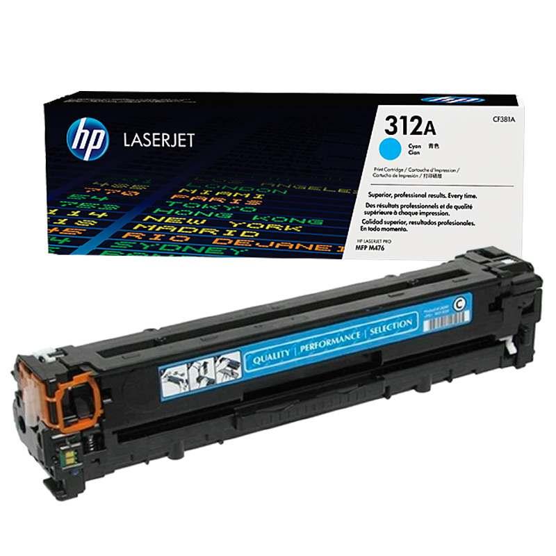 Картридж HP CF380A для Color LaserJet Pro MFP M476 series. Чёрный. 2400 страниц.