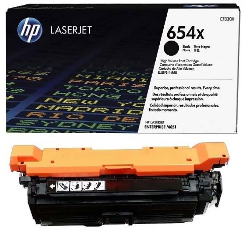 Картридж HP CF320A для LaserJet Enterprise Color MFP M680dn/M651n. Чёрный. 11500 страниц. (652A)