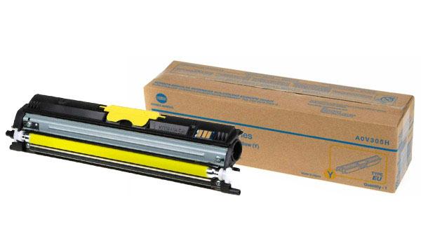 Combopack remanufactured konica-minolta magicolor 1600 (1 blk+ 3 clr)