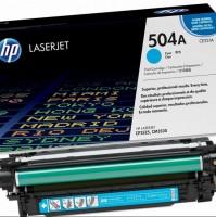 картридж HP 504A (CE251A)