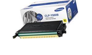 картридж Samsung CLP-Y660B